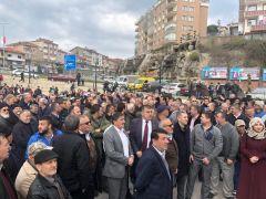 AK Parti Alaplı'da 3 bin kişiyle gövde gösterisi yaptı