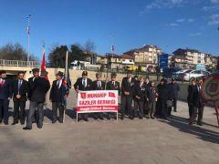 Alaplı'da 18 Mart Çanakkale Zaferi coşkuyla kutlandı