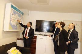 BAKKA yetkilileri TCDD'de ziyaretlerde bulundu