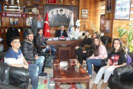 BEÜ Öğrencileri Başkan Demirci ile bir araya geldi