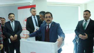 Bakan Yardımcısı Aksu Şahin'e destek için Ereğli'ye geldi