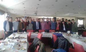 Başkan Demirtaş futbolcularla buluştu