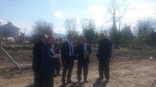 """""""Butik Köy Projesi"""" projesi ile Kayıkçılar köyüne örnek Armut bahçesi kuruldu"""