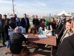 Celil Uzun, vatandaşlarla buluşmaya devam ediyor