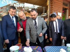 Gençlik ve Spor Bakan Yardımcısı Hamza Yerlikaya, Çaycuma'ya geldi