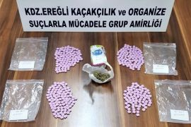 Kdz. Ereğli'de uyuşturucu operasyonu: 2 gözaltı