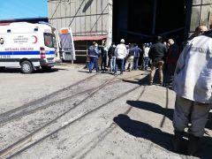 Maden ocağında göçük: 4 işçi hafif şekilde yaralandı