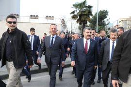 Sağlık Bakanı Koca'dan Zonguldak'ta esnaflara ziyaret