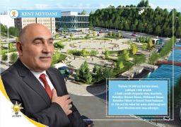 Şahin Kent Meydanı Projesini anlattı