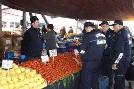 Zabıta sebze- meyve fiyatlarını denetledi