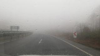Zonguldak'ta sis görüş mesafesi 20 metreye düştü