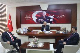 AK Parti heyetinden Başkan Posbıyık'a ziyaret
