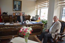 Başkan Posbıyık, Kaymakam Çorumluoğlu'nu ziyaret etti