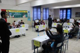 Çaycuma'da Ortaokullar arası matematik yarışması düzenlendi