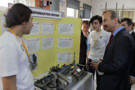 Çaycuma'da lise öğrencileri tarafından 4006 Tübitak Bilim şenliği düzenlendi