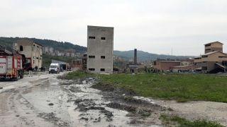 Fabrikada göçük, 1 işçi hayatını kaybetti