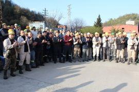 GMİS yönetim kurulu, Armutçuk'da madencilerle bir araya geldi