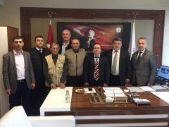 Gazeteciler, Yüksek Okul Müdürünü ziyaret ettiler