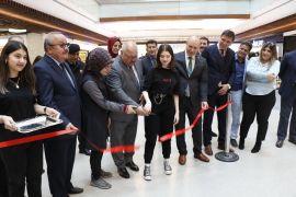 Kozlu Anadolu Lisesi 67 Burda AVM'de resim sergisi açtı