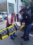Otomobil yolcu midibüsüyle kafa kafaya çalıştı: 3 yaralı
