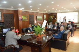 Şoförler Odası Başkan Demirtaş'ı kutladı