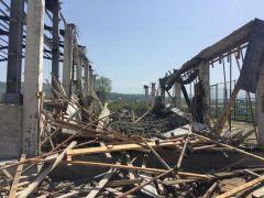Spor Salonu inşaatında göçük: 1 yaralı