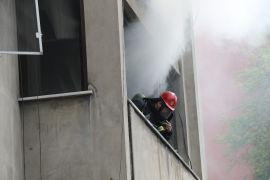 Zonguldak'ta ikamet yangını ev kullanılmaz hale geldi
