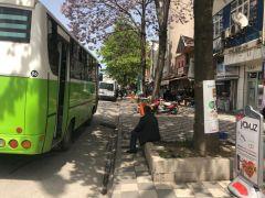 Alaplı'da vatandaşlar otobüs duraklarını geri istedi