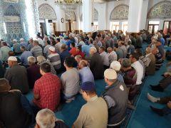 Devrek'te Ramazan ayının son cuma namazı kılındı