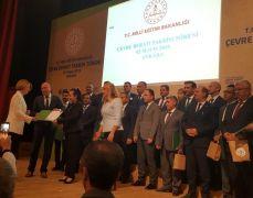 Emine Erdoğan'ın başlattığı projede Zonguldak'a Çevre Beratı ödülü