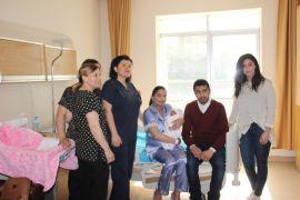 Fas'ta yaşayan çift doğum için ilk tanıştıkları Zonguldak'ı tercih etti