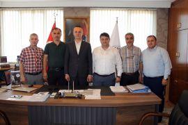 GMİS'ten Başkan Alan'a 'hayırlı olsun' ziyareti