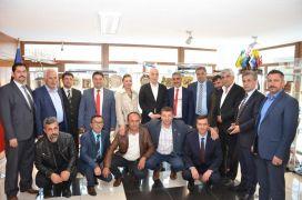 GMİS, TÜRK-İŞ Genel Başkanı Atalay'ı ziyaret etti