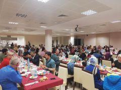 Hemşireler haftasında iftar programı düzenlendi