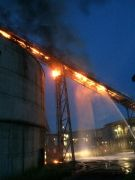 Kağıt fabrikasında korkutan yangın