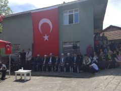 Kazada şehit olan polis memuru Taşköprü, Zonguldak'ta son yolculuğuna uğurlandı