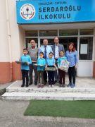 Kazanan öğrenciler ödüllerini aldı