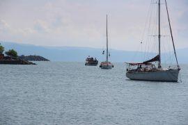 Samsun'a giden 6 kadın denizci Karadeniz Ereğli'de