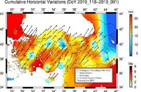 Uydu verilerinden yer hareketlerini ve atmosferik değişimlerini izleyen analiz merkezi geliştirdiler