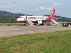 Atlas Global, Zonguldak Havaalanına ilk seferini yaptı