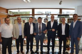 GMİS'ten Türk-İş Genel Başkanı Atalay'a ziyaret