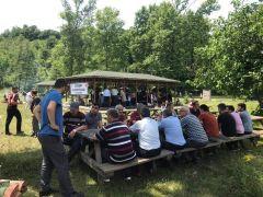 Gökçebey'de vatandaşlar piknikte buluştu