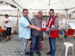 Kızılay Çaycuma'da ödüllerini dağıttı
