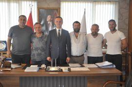 Kömürspor yönetimi belediyeden destek istedi