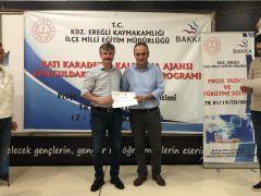 Proje Yazma ve Yürütme  Eğitimi sertifika töreni ile sona erdi