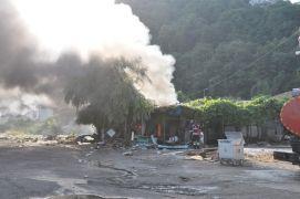Zonguldak'ta barakada patlama meydana geldi: 1 yaralı