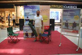 67 Burda AVM'den 350 TL Alışverişe Kamp Sandalyesi Hediye
