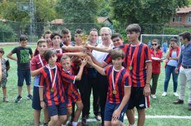Camiler arası futbol turnuvası düzenlendi