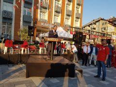 Devrek'te Baston ve Kültür festival meşalesi ateşlendi