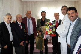 Kdz. Ereğli'de 15 Temmuz gazisi evinde ziyaret edildi